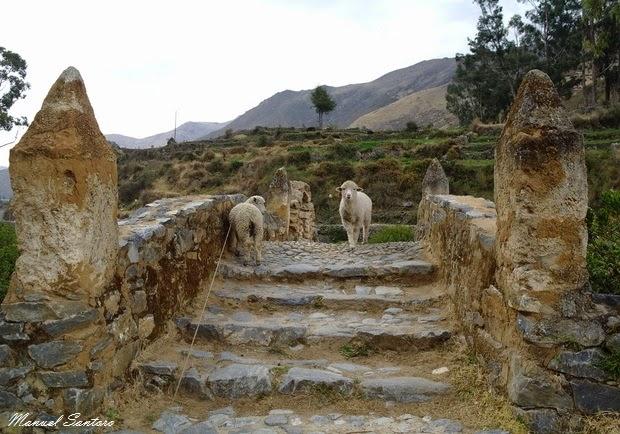 Huancaya, Puente Estilo Colonial