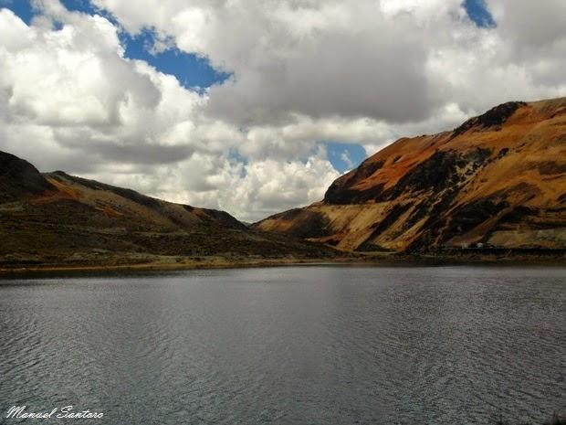 Lagune nei pressi di Pucarà