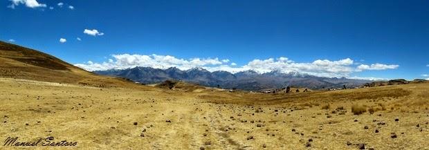 Punta Callan, vista sulla Cordillera Blanca