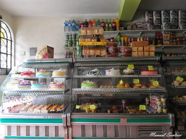 Huaraz, spuntino in pasticceria