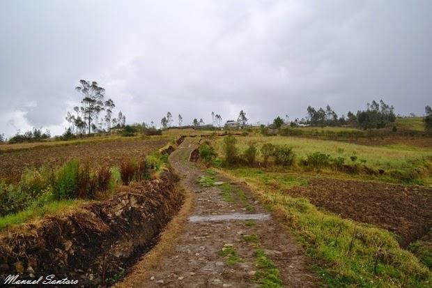 Karajia, ritorno verso Cruz Pata