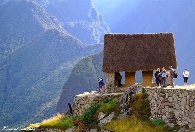 Machu Picchu, Capanna del Custode
