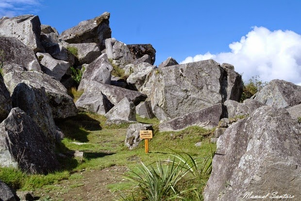 Machu Picchu, cava