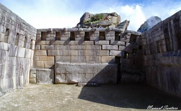 Machu Picchu, Tempio Principale