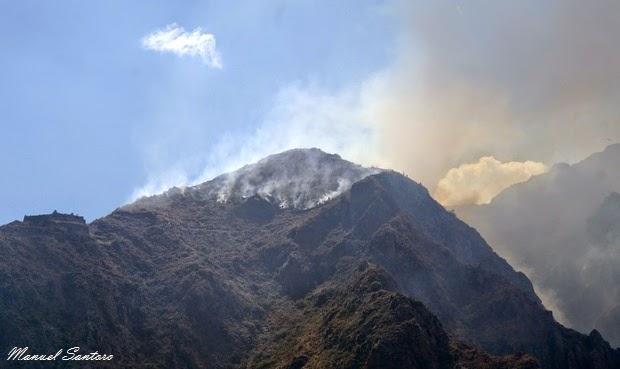 Ollantaytambo, vista dal Pinkuylluna