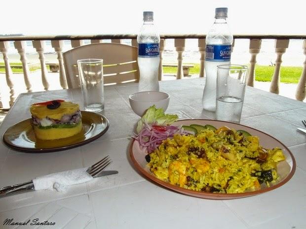 Pimentel, pranzo al restaurant Tienda del Pato