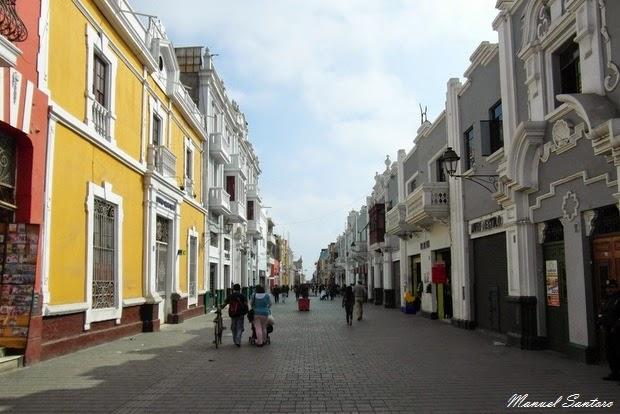 Trujillo, calle Pizarro
