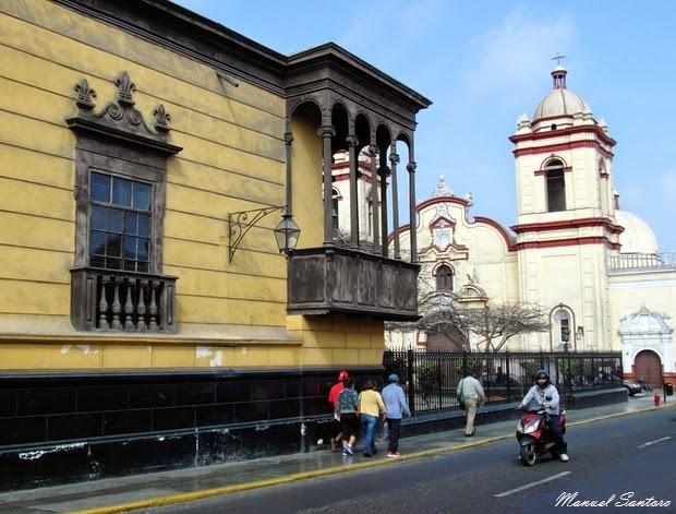 Trujillo, Iglesia San Augustin