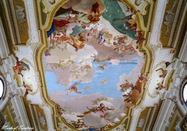 Stra, Villa Pisani, Gloria della Famiglia Pisani