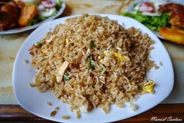 Oxapampa, Restaurant Rodry's, arroz chaufa