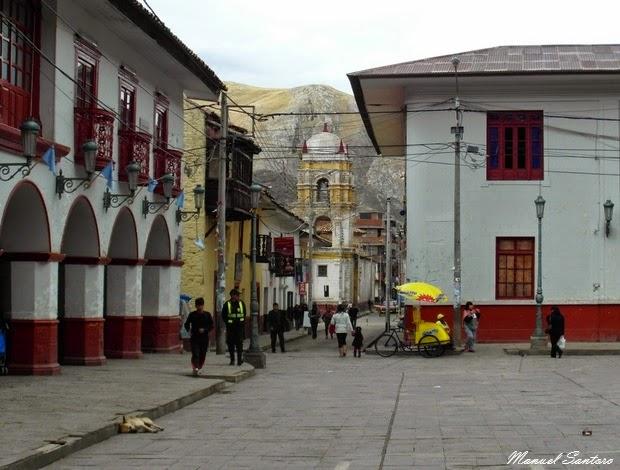 Huancavelica, scorcio sulla Iglesia de Santo Domingo