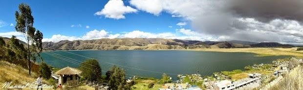 Laguna de Paca, vista dal mirador