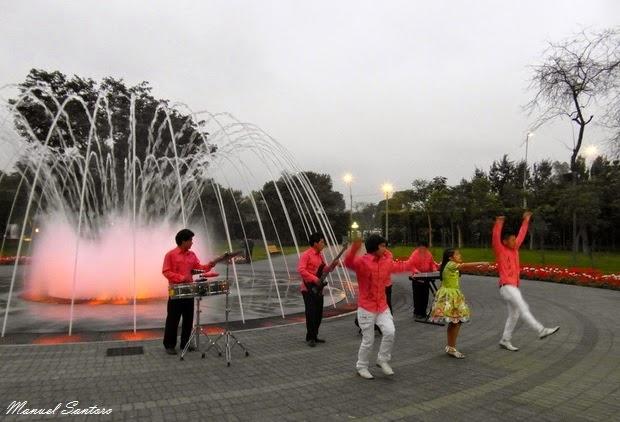 Lima, Parque de la Reserva, Circuito Magico del Agua