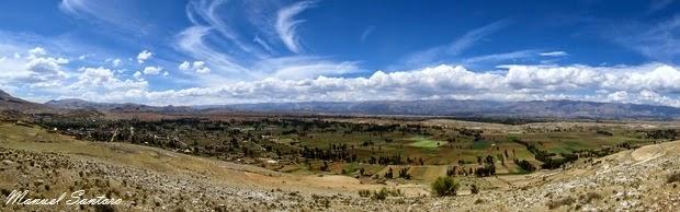 Vista dal Mirador de Tinyari