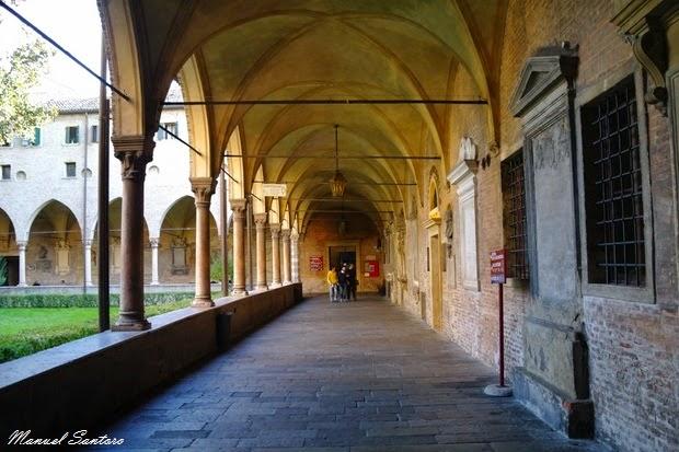 Padova, Basilica di Sant'Antonio, Chiostro della Magnolia