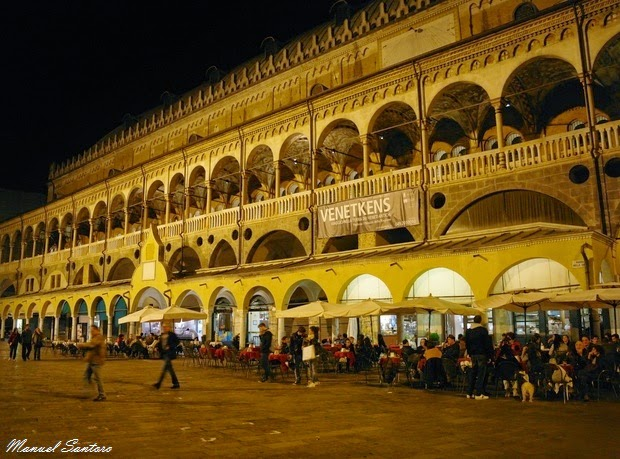 Padova, Piazza delle Erbe, Palazzo della Ragione