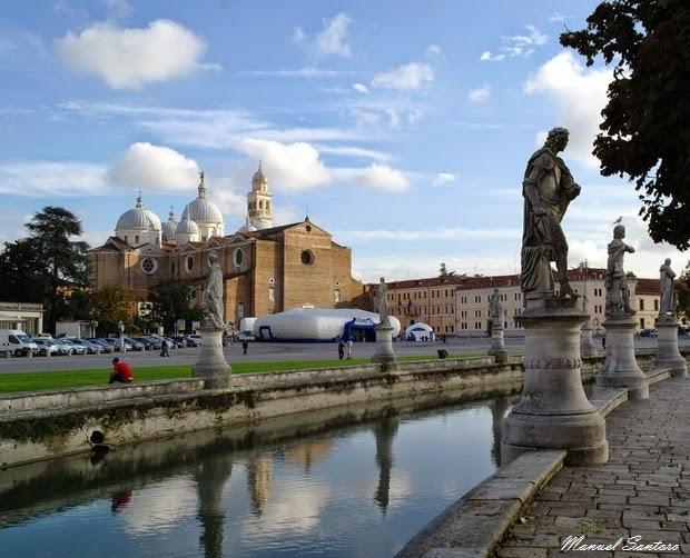 Padova, Prato della Valle, Basilica di Santa Giustina