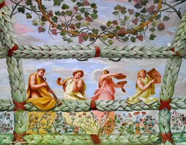 Piazzola sul Brenta, Villa Contarini, affreschi