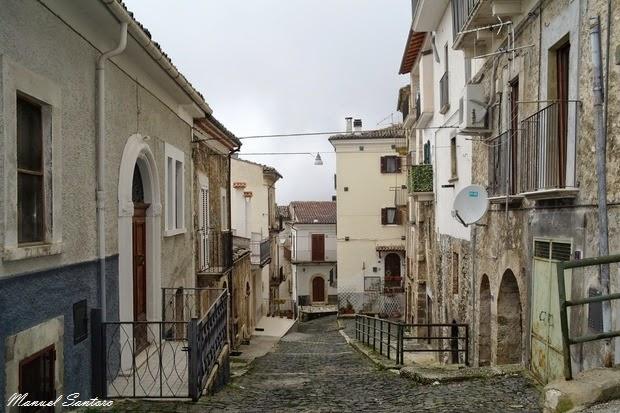 Pacentro, centro storico