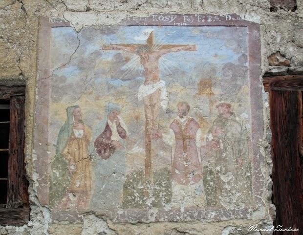 Fornesighe, affreschi su case