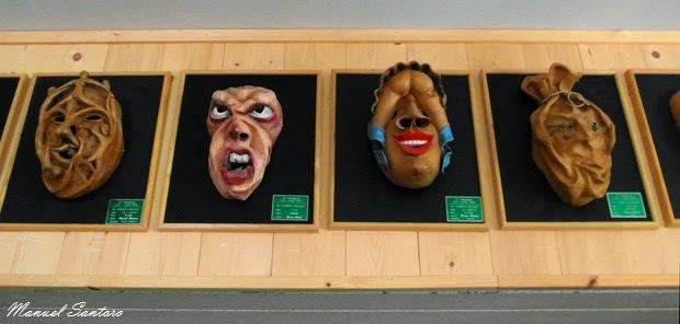 Fornesighe, esposizione di maschere lignee