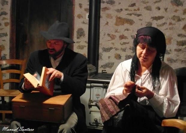 Charly Gamba e Paola Brolati nella rivisitazione del filò