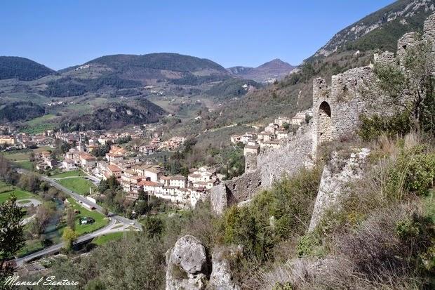 Ferentillo, vista su Matterella