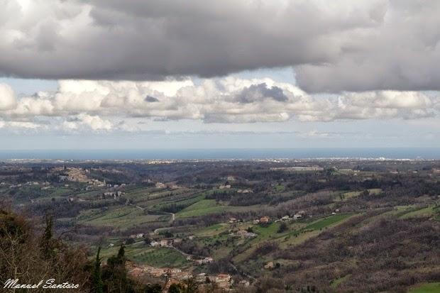 Guardiagrele, vista panoramica da largo Nicola da Guardiagrele