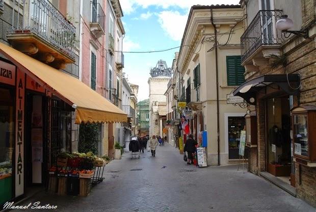 Guardiagrele, via Roma