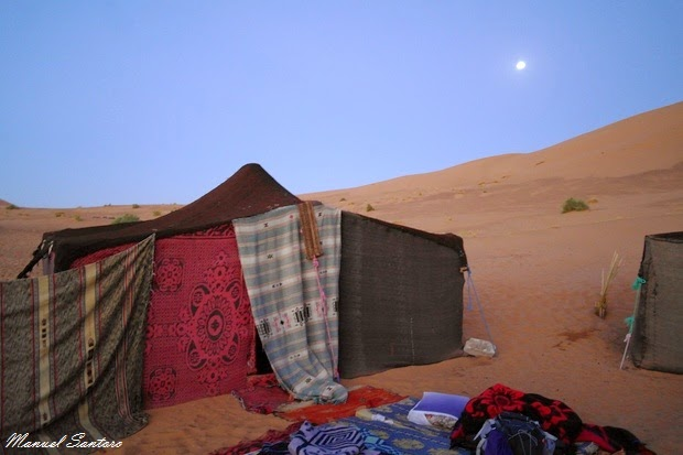 Marocco, accampamento beduino a Merzouga