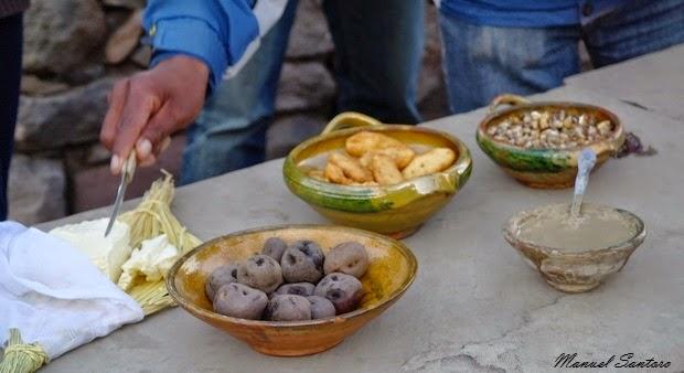 Perù, nei pressi di Puno patate con argilla