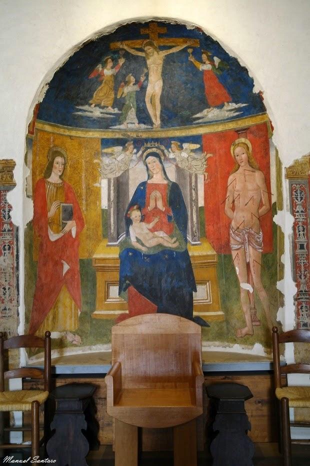 Norcia, Basilica di San Benedetto. Cripta