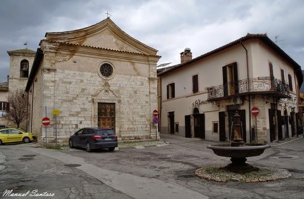 Norcia, chiesa di San Francesco