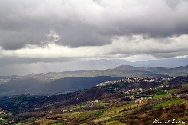 Pennapiedimonte, vista dal belvedere
