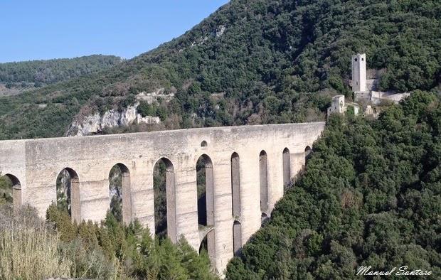 Spoleto, Ponte delle Torri