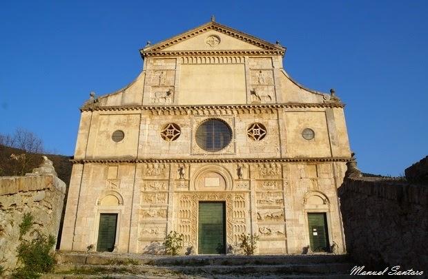 Spoleto, chiesa di San Pietro