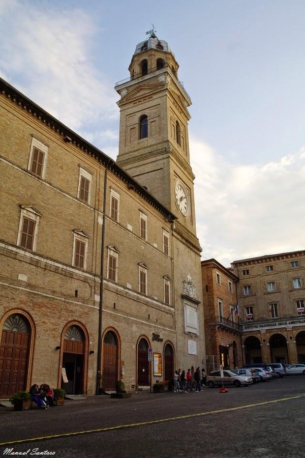 Macerata, torre civica
