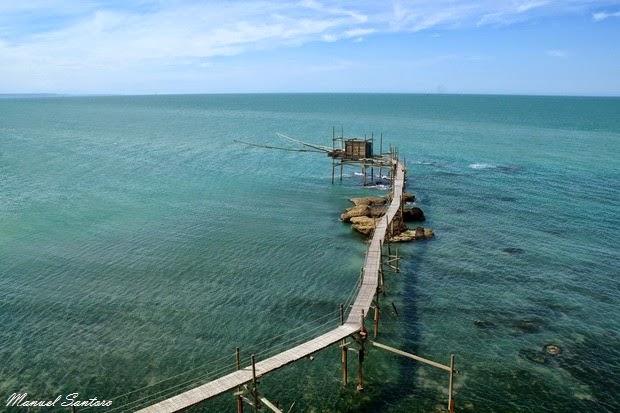 Vasto, Punta Aderci. Trabocco