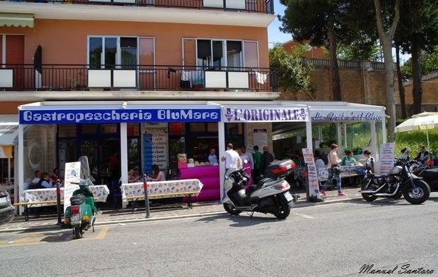 Marina di San Vito, Gastropescheria Blu Mare