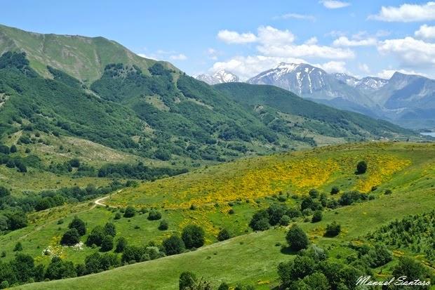 Vista dal monte Cardito