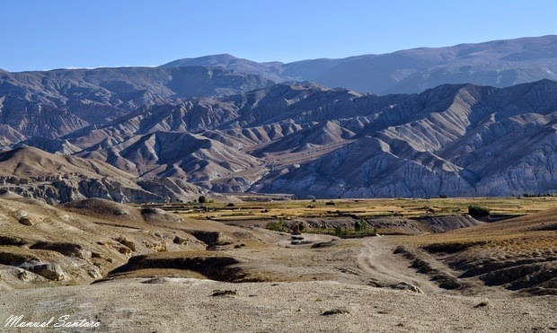 Lo Manthang, ritorno in jeep
