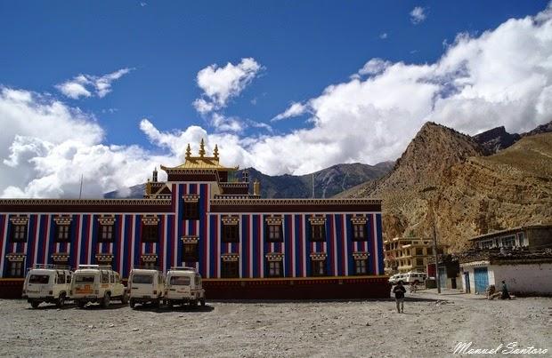Jomsom, monastero buddhista-Bon