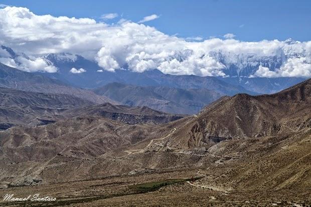 Vista dal Nyi La Pass