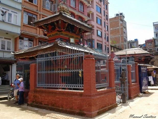 Kathmandu, tempio di Sikha Narayan