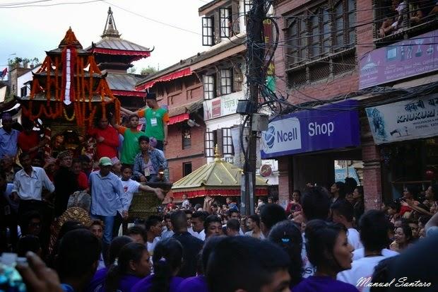 Kathmandu, Indra Jatra
