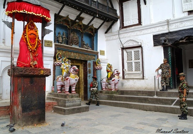 Kathmandu, Durbar Square. Palazzo Reale