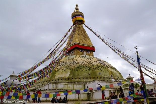Bodhnath, Stupa