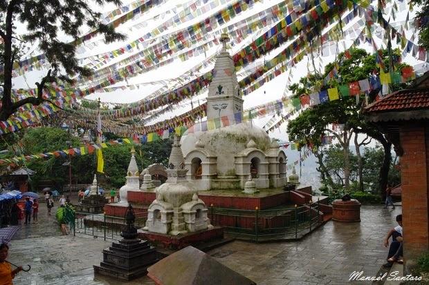 Swayambhunath, stupa più piccolo