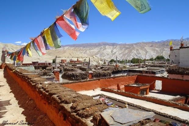Lo Manthang, vista dal Jampa Lakhang