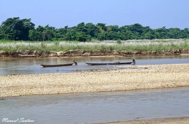 Sauraha, fiume Rapti